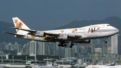 JA8150 - Boeing 747-246B - JALways
