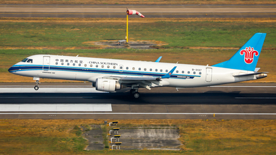 B-3137 - Embraer 190-100LR - China Southern Airlines