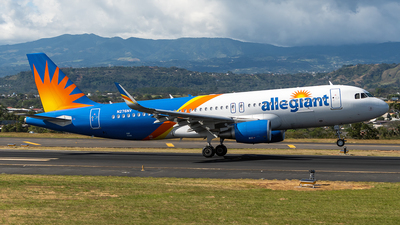 A picture of N276NV - Airbus A320214 - Allegiant Air - © Cristian Quijano