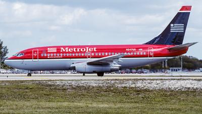 N247US - Boeing 737-201(Adv) - MetroJet