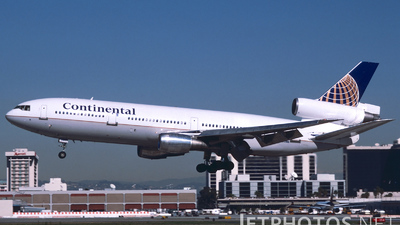 N12089 - McDonnell Douglas DC-10-30 - Continental Airlines