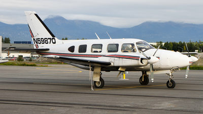 A picture of N59870 - Piper PA31310 - [317612071] - © C. v. Grinsven