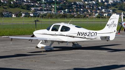 N982CD - Cirrus SR22-GTS - Private