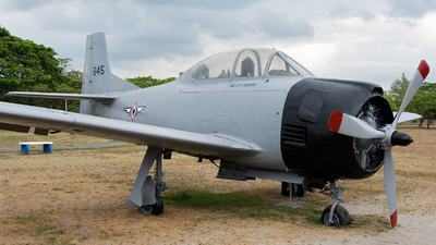 645 - North American T-28A Trojan - Philippines - Air Force