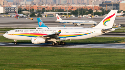 A picture of B1047 - Airbus A330243 - Tibet Airlines - © ShirokaneRinko