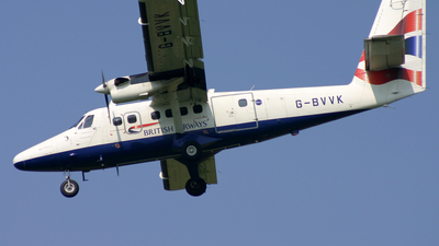 G-BVVK - De Havilland Canada DHC-6-300 Twin Otter - British Airways (Loganair)