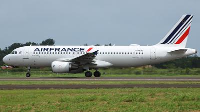 F-HEPC - Airbus A320-214 - Air France
