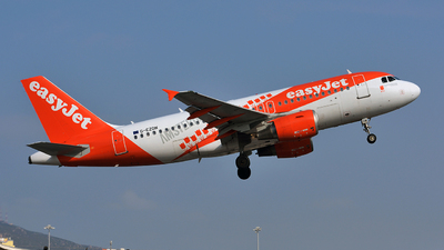 G-EZDN - Airbus A319-111 - easyJet