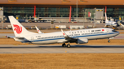 A picture of B1958 - Boeing 73789L - Air China - © leohuang