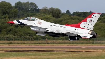 92-3881 - Lockheed Martin F-16CJ Fighting Falcon - United States - US Air Force (USAF)