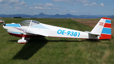 OE-9381 - Scheibe SF.25C Falke - Private