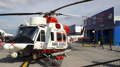 TCSG-508 - Agusta-Bell AB-412SAR - Turkey - Coast Guard