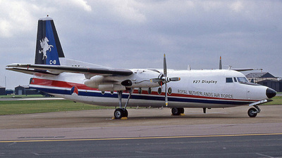 C-8 - Fokker F27-300M Troopship - Netherlands - Royal Air Force