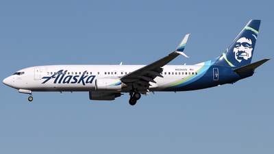 N524AS - Boeing 737-890 - Alaska Airlines