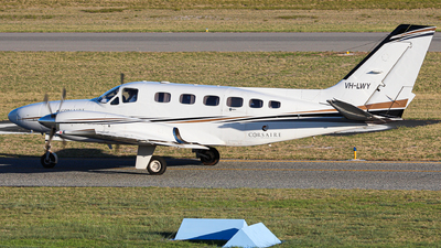 VH-LWY - Cessna 441 Conquest II - Corsaire