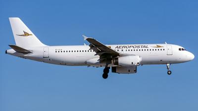 EI-TLP - Airbus A320-232 - Aeropostal - Alas de Venezuela (TransAer International Airlines)