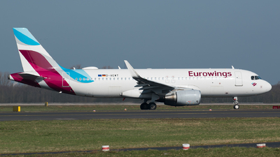 A picture of DAEWT - Airbus A320214 - Eurowings - © Tim Kaempfer