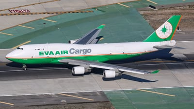 B-16401 - Boeing 747-45E(BDSF) - Eva Air Cargo