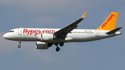 A picture of TCNCE - Airbus A320251N - Pegasus Airlines - © Luca Gussoni