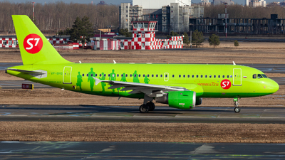 A picture of VPBHQ - Airbus A319114 - S7 Airlines - © Marianna Rychkovskaia