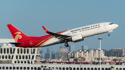 A picture of B5322 - Boeing 73786N - Shenzhen Airlines - © CHenFeng_XMN
