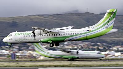 EC-KGJ - ATR 72-212A(500) - Binter Canarias