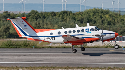 F-HCEV - Beechcraft B200GT Super King Air - France - Direction Generale de l'Aviation Civile