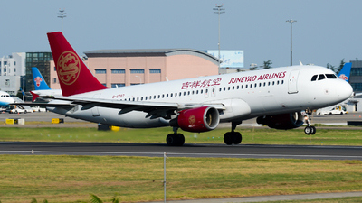 B-6787 - Airbus A320-214 - Juneyao Airlines