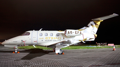 A6-EFA - Embraer 500 Phenom 100 - Etihad Airways