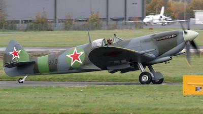 G-PTIX - Supermarine Spitfire Mk.IX - Private