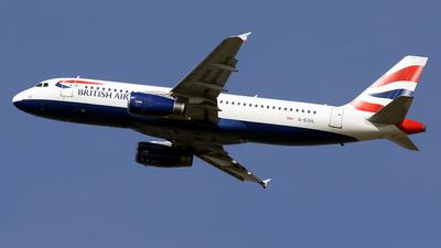 A picture of GEUUL - Airbus A320232 - British Airways - © Javier Rodriguez - Amics de Son Sant Joan