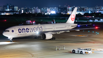 JA771J - Boeing 777-246 - Japan Airlines (JAL)