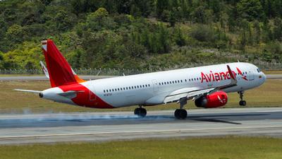 N747AV - Airbus A321-231 - Avianca