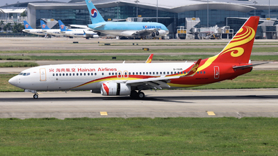 A picture of B1505 - Boeing 73784P - Hainan Airlines - © nibrage