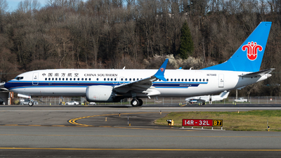 N1784B - Boeing 737-8 MAX - China Southern Airlines