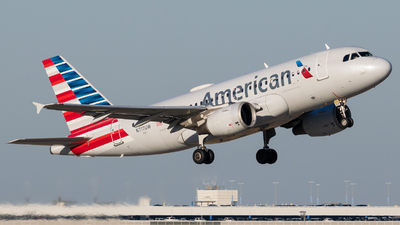 A picture of N717UW - Airbus A319112 - American Airlines - © Positive Rate Photography