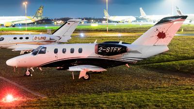 2-STFK - Cessna 525 CitationJet M2 - Private
