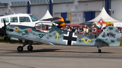 D-MYME - Peak Messerschmitt BF 109R Replica - Private