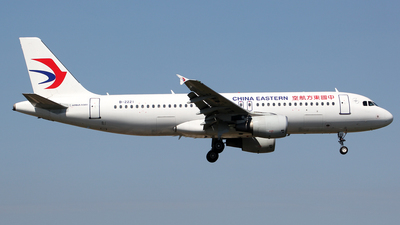 A picture of B2221 - Airbus A320214 - China Eastern Airlines - © Wanping Chen