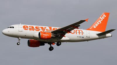 G-EZBC - Airbus A319-111 - easyJet