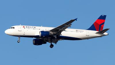 N324US - Airbus A320-211 - Delta Air Lines