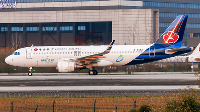B-8443 - Airbus A320-214 - Qingdao Airlines