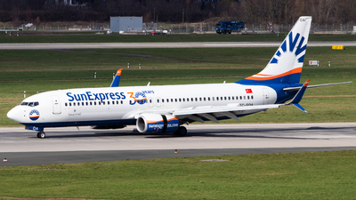 A picture of TCSOA - Boeing 7378HC - SunExpress - © Tim Donell