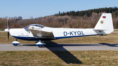 D-KYGL - Scheibe SF.25C Falke - Deutsche Alpensegelflugschule Unterwössen