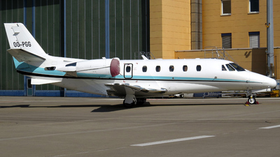 OO-PGG - Cessna 560XL Citation Excel - Abelag Aviation