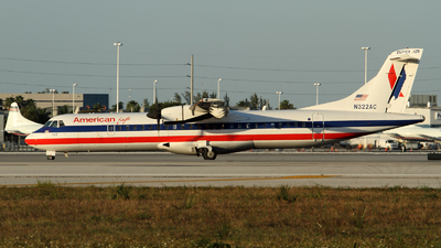 N322AC - ATR 72-212 - American Eagle (Executive Airlines)