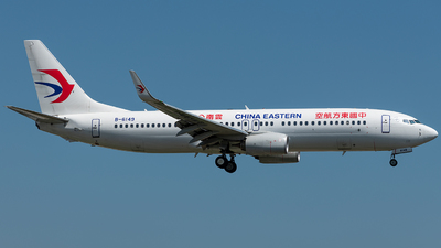 B-6149 - Boeing 737-89P - China Eastern Airlines