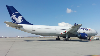 EP-MDN - Airbus A300B4-605R - Iran Air Tour