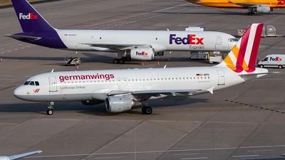 D-AIPU - Airbus A320-211 - Germanwings