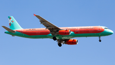 UR-WRH - Airbus A321-231 - Windrose Airlines